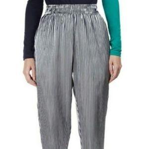 American Apparel Pants - American Apparel metallic striped harem pant